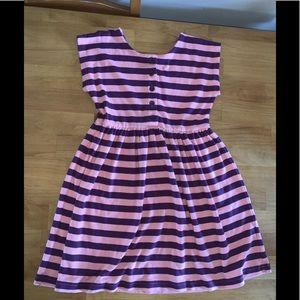 Hanna Andersson dress size 130 8 short sleeve